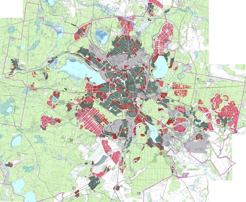 Екатеринбург разобьют на зоны