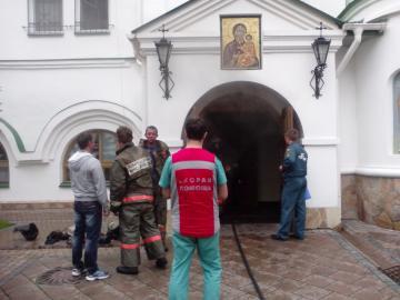 В Екатеринбурге горел женский монастырь