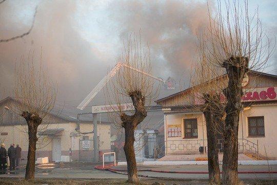 В Нижнем Тагиле горел хлебозавод депутата-единоросса