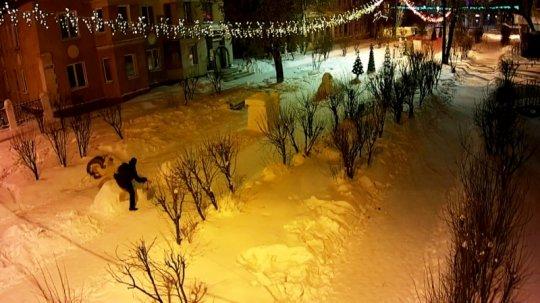 Пьяный преподаватель из Алапаевска избил деревянного петуха