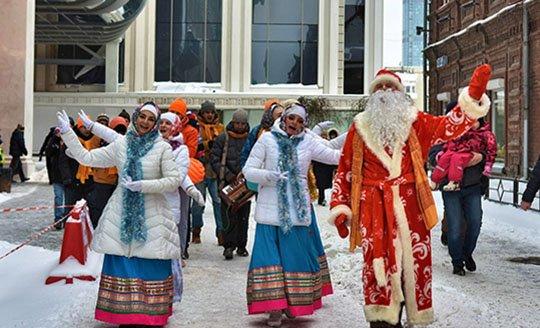 В Екатеринбурге судят Деда Мороза-кришнаита