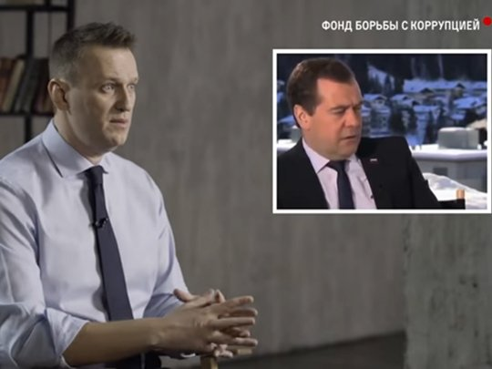 Навальный, «Димон» и большая политика