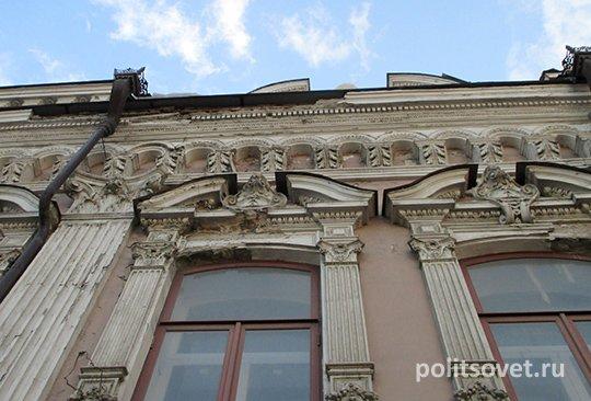 В центре Екатеринбурга разрушается памятник истории