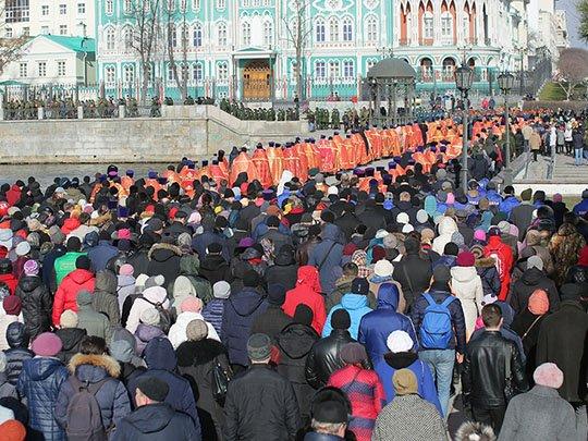 Политическая Пасха в Екатеринбурге