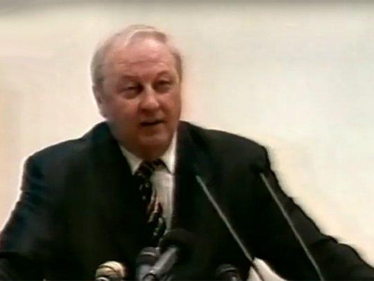 «Уралмаш», Немцов, телебашня: уникальная видеохроника губернаторских выборов 1999 года