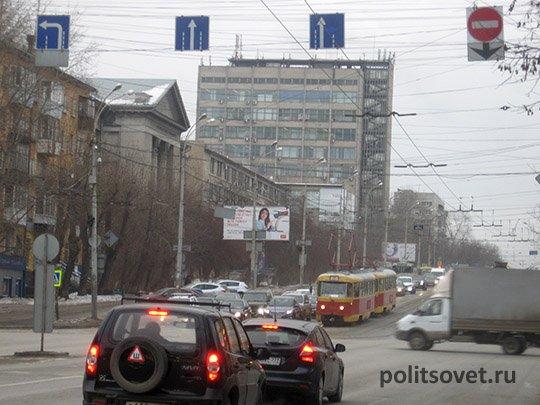 В Екатеринбурге появится «максимальное» число выделенных полос