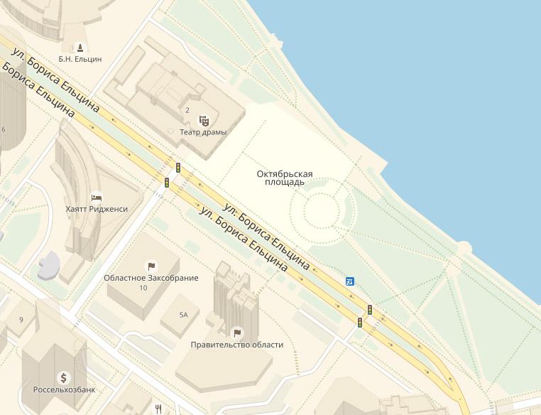 ВЕкатеринбурге объявлен конкурс наразработку концепции развития территории уТеатра драмы