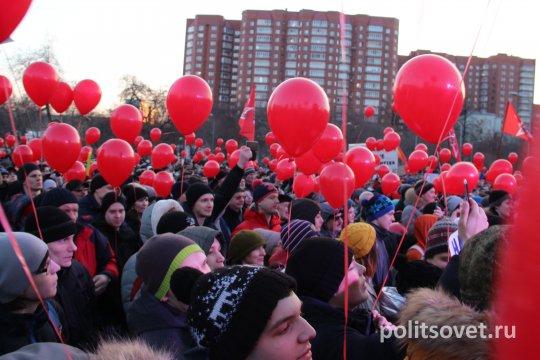 «Это наш город»: в Екатеринбурге прошел митинг против отмены выборов мэра