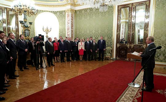 Путин созвал министров в ночь перед отставкой правительства
