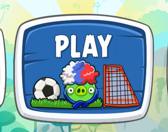 В Angry Birds появилась свинья с триколором