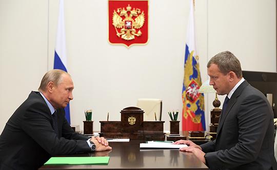 Еще один охранник Путина стал губернатором