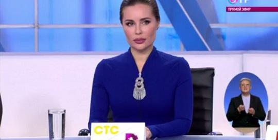На большое интервью Медведева пришла Юлия Михалкова