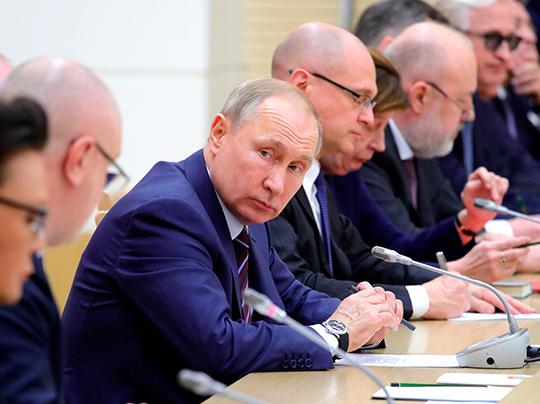 Фотография с официального сайта Кремля